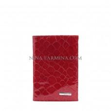 Обложка на паспорт F 9286 m red