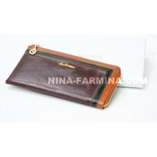 Клатч NF-2010JC-COFFEE Масляная кожа
