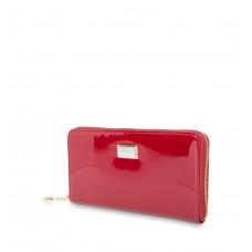 Кошелёк 9285-026 Red лаковая кожа