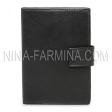 Обложка Авто Паспорт 86002 Black