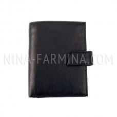 Бумажник с отделениями для паспорта и автодокументов d_23001_Black