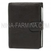 Бумажник с отделением для паспорта и автодокументов MB-1704 BLACK