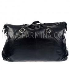 Дорожная сумка из натуральной кожи 820_2_Black