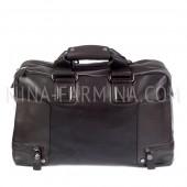Дорожная сумка из натуральной кожи xl8602_Brown