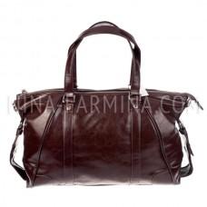 Дорожная сумка, искусственная кожа xl8691 Coffee