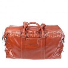 Дорожная сумка, искусственная кожа xl8714 Brown