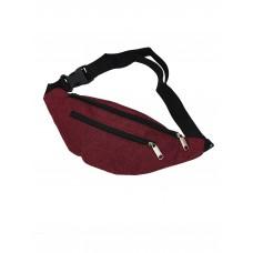 Поясная сумка NF714 бордовая