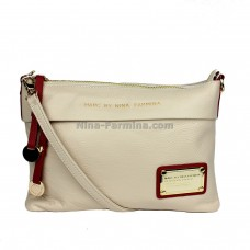 Клатч NINA FARMINA NF-8212 Beige Red