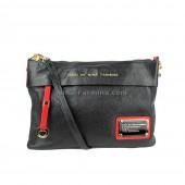 Клатч NINA FARMINA NF-8212 Black Red